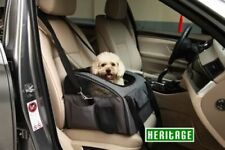 Heritage Luxury Car Seat & Carrier Cat Small Dog Pet Puppy Travel Cage Booster