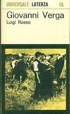 RUSSO Luigi, Giovanni Verga