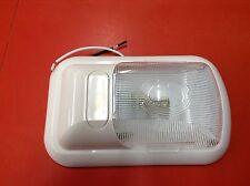 LED Fishhouse Clear Single Pancake Trailer Camper RV Interior Dome Light 12 Volt