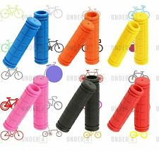 Soft BMX MTB Cycle Mountain Bicycle Scooter Bike Handle bar Grips HAND GRIP UK