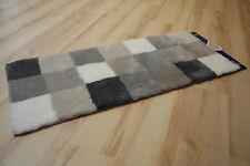Alfombra de baño Kleine Wolke a cuadros 179 Franela 50x120 cm alfombra Gris