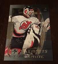 Wayne Gretzky1999-00 UD Martin Brodeur Element Of The Game Insert #EG10 Card