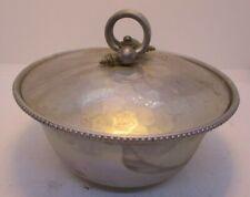 Buenilum Aluminum Lidded Bowl Vintage