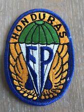 Honduras Parachutist Patch Cloth