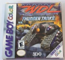 World Destruction League: Thunder Tanks Nintendo Game Boy Color CIB Game Manual