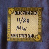 BRUCE SPRINGSTEEN E Street Band MILANO 2007 original promo pass satin MINT
