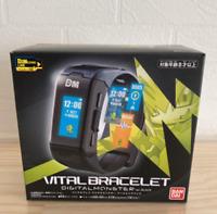 DIGIMON Digital Monster Vital Breath BLACK Vital Bracelet Wrist Watch BANDAI