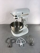 KitchenAid K4SSWH White Lift-Stand Mixer 4.5 Quart, Cloth Cover, Extras! TESTED!