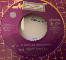 ** THE ROAD APPLES - LET'S LIVE TOGETHER - MUMS PROMO 1975 **