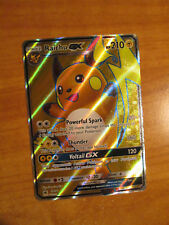 NM FULL ART Pokemon RAICHU GX Card BLACK STAR PROMO Set SM90 Ultra Rare Box TCG