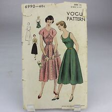 Vintage Vogue Sewing Patterns 1950's    6990 Size 14  1950