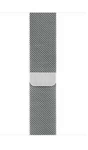 Genuine Apple Milanese Loop Strap 44mm 42mm Silver Stainless Steel Band Brac