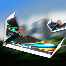 DW HOBBY Upgraded Rainbow Ⅱ1000mm Wingspan EPP Foam Flying Wing RC Airplane Kit