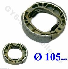 REAR DRUM BRAKE SHOE PAD 105mm GY6 4STROKE CHINESE SCOOTER ATV ROKETA PEACE VIP