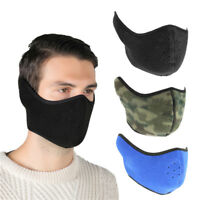 Sport Cycling Half Face Mask Bike Bicycle  Winter Warm Fleece  Windproof