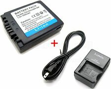 Battery & Charger for CGA-S002E Panasonic Lumix DMC-FZ1 DMC-FZ2 DMC-FZ3 DMC-FZ4
