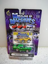 MUSCLE MACHINES 1:64 70 OLDS 442  ( # 03 - 36 )