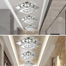 Soggiorno plafoniera lampada ingresso chandelier soffitto luce LED cristallo