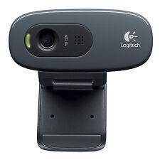 Logitech C270 - USB-Webcam, schwarz DKVW
