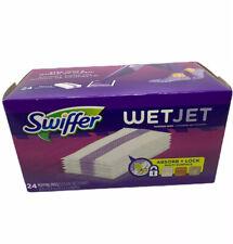 Swiffer Mouillé Jet Bois Dur Serpillère Recharges Tout Usage Multi Surface 24