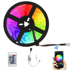 5M Smart Strisce Luce WIFI Control LED 5050RGB 300LED 12V Con Amazon Alexa X6E4