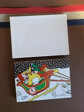Vintage 1988 St Louis Cardinals Christmas Cards With Envelops 18 Set Holiday