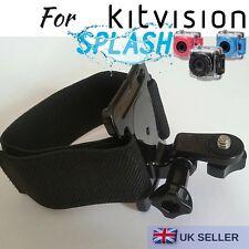 Hand Wrist Strap Harness Mount for Kitvision Splash Edge HD 10 Action Camera