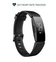 REFURBISHED FITBIT INSPIRE HR ACTIVITY TRACKER HEART RATE SMARTWATCH - BLACK