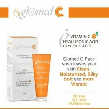 Vitamin C Hyaluronic Acid Glycolic Acid Aloe Vera Facial Soap Free Cleanser 70G
