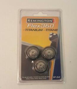 Remington Flex 360°  Titanium Replacement Razor Head New SP3141