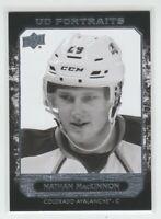 (74394) 2014-15 UPPER DECK PORTRAITS NATHAN MacKINNON #P-38