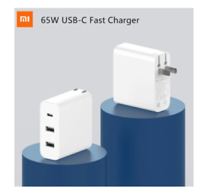 65W Xiaomi Travel Fast Charging 3 Ports Output Type-C Charger for Laptop Phone
