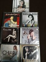 ALEXIA,CHIARA,TATANGELO,ALOTTA, NERO, FIORDALISO, VIOLETTA - SETTE CD VEDI DESCR