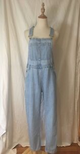 Raised By Wild Denim Overalls Dungarees Size M Casual Brunch Party