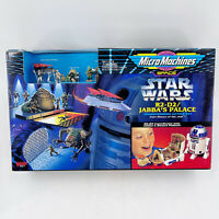 New 1996 Galoob Star Wars Micro Machines R2-D2 Jabba's Palace Transforming Set