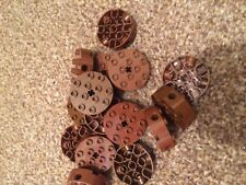 LEGO Large Wheel Circle Block Middle Technic Brick BROWN FAST FREE UK POSTAGE