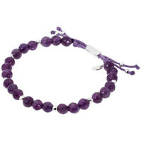 Gorjana Power Gemstone Amethyst Beaded Bracelet for Tranquility 17120523SPKG