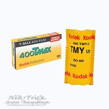 Kodak Tmax 400 120 Medium Format B&W Film ~ Sold by the Roll ~ Freshest UK Stock