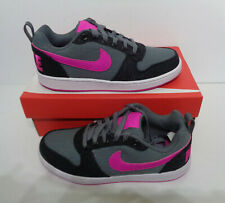 Nike Ladies New Court Borough Low Trainers Shoes Lace Up New RRP £90 Size 4.5