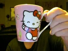 KID'S HELLO KITTY MUG PERFECT XMAS GIFT TREAT URS..ELF AT MARKP1667 FREE UK POST