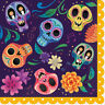 """""""Coco Movie"""" Mexican Day of the Dead Party Supplies (16) LUNCH DINNER NAPKINS"""