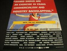 Mike Oldfield Dwight Yoakam Iris Dement Fairfield 4 Prodigy 1998 Promo Poster Ad