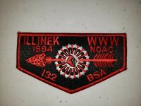 Boy Scout OA Lodge 132 Illinek 1994 NOAC Flap