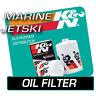 KN-204 K&N OIL FILTER fits KAWASAKI JT1500 ULTRA LX 1500 2007-2009  JETSKI