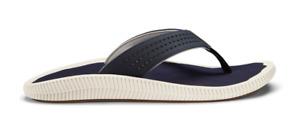 Olukai Ulele Blue Depth/Blue Depth Flip Flop Sandal Men's US sizes 7-15 NEW!!!