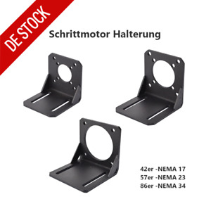 Schrittmotor Halterung Alloy Steel for NEMA 17 / 23 / 34 / CNC 3D Drucker