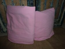 """ROOMS THAT RULE (2PC) PINK CHAMBRAY TWIN SHEET SET GIRLS 13"""" POCKETS"""