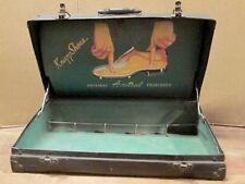KNAPP SHOES SALESMAN'S SAMPLE SUITCASE 1950s Door to Door Sales Advertising Case