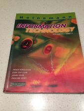 INFORMATION TECHNOLOGY BOOK-M VCE UNITS 1 & 2- VGC BARGAIN