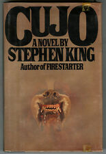 "Stephen King Signed "" CUJO "" Hardcover In DJ - Never read -  MINT"